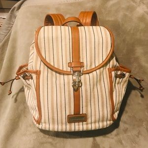 Simply Noelle Canvas Vegan Leather Backpack
